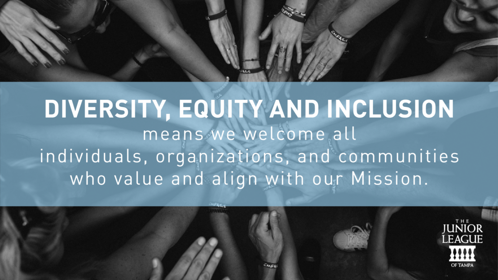 Diversity, Equity and Inclusion (DE&I) means we welcome all individuals, organizations, and communities who value and align with our Mission.