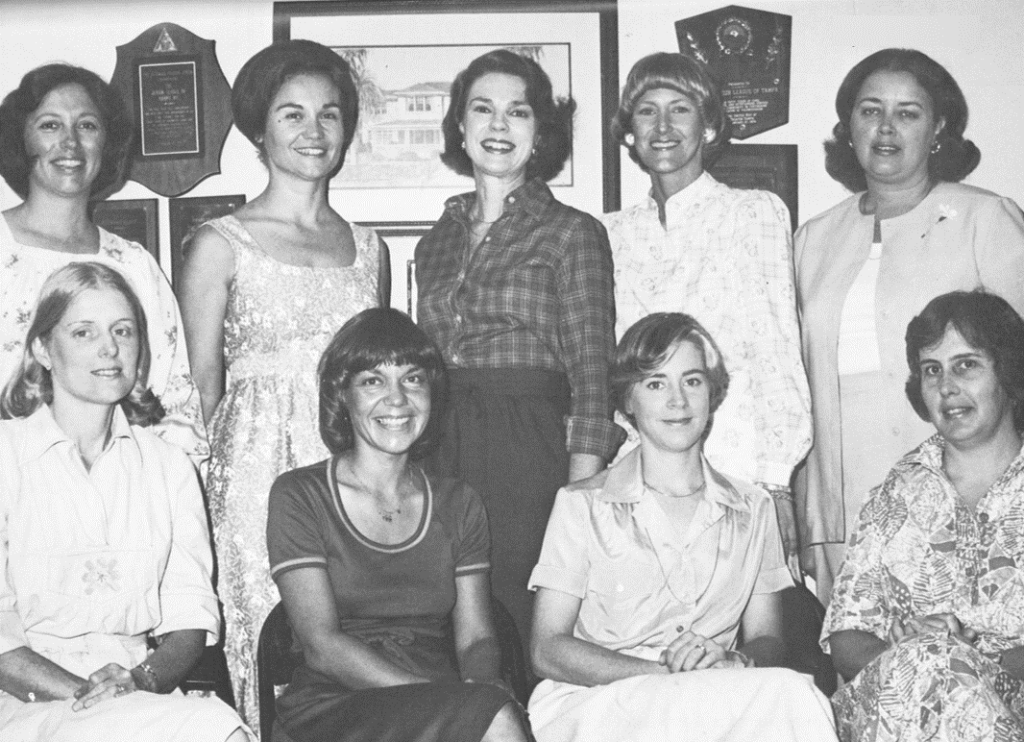 The Junior League of Tampa Board 1978