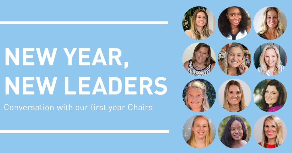 New Year, New Leaders: Conversation with our first year Chairs