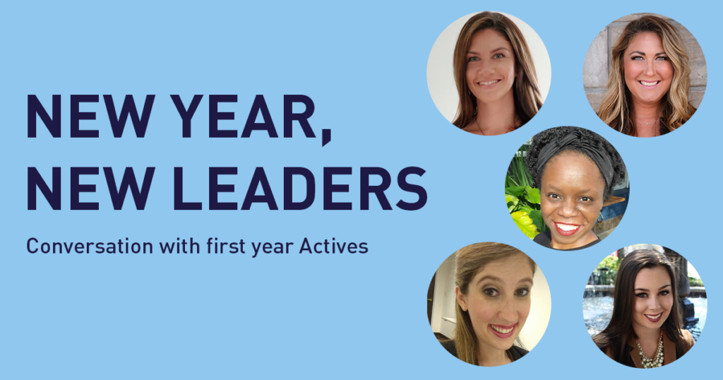 New Year, New Leaders: Conversation with First Year Actives