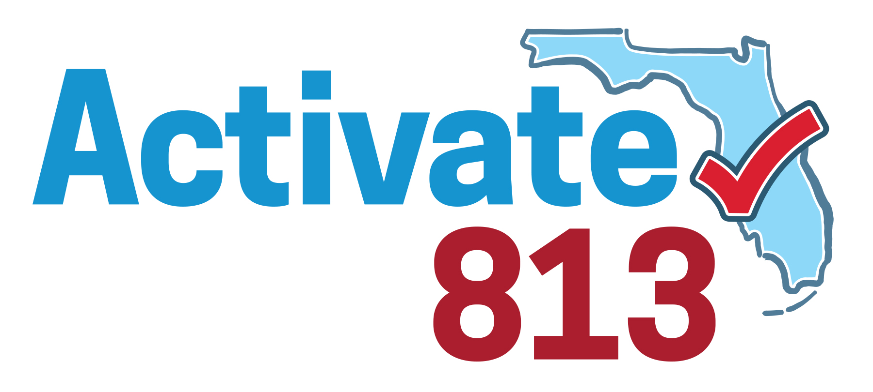 Activate813 Logo - Collaborative Initiative created by The Junior League of Tampa