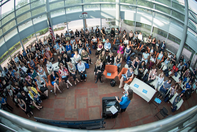 Women attend Citi: How Women Shape Technology and Business event in Tampa and learn to develop leadership