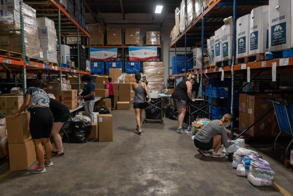 The Junior League of Tampa Diaper Bank Warehouse