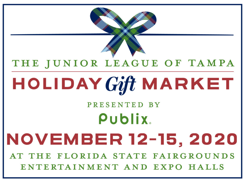 The Junior League of Tampa's Holiday Gift Market on November 12-15, 2020 at the Florida State Fairgrounds