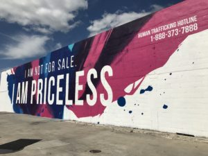 Mural, Human Trafficking Awareness, advocacy