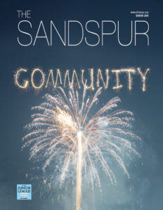 2018 Winter Edition of The Sandspur, the official magazine of The Junior League of Tampa
