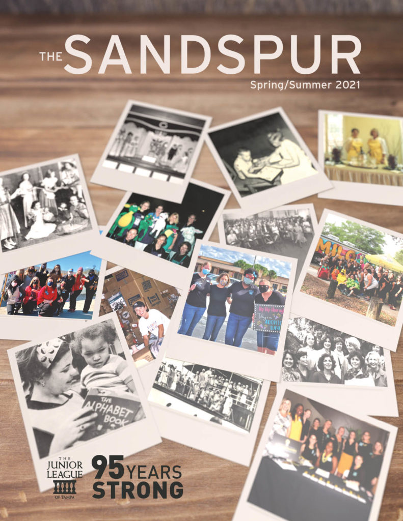 The Sandspur Spring Summer- Photos of The Junior League of Tampa Volunteers through the years - 95 Strong