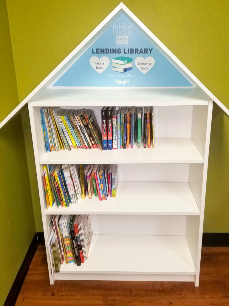 The Junior League of Tampa Lending Library