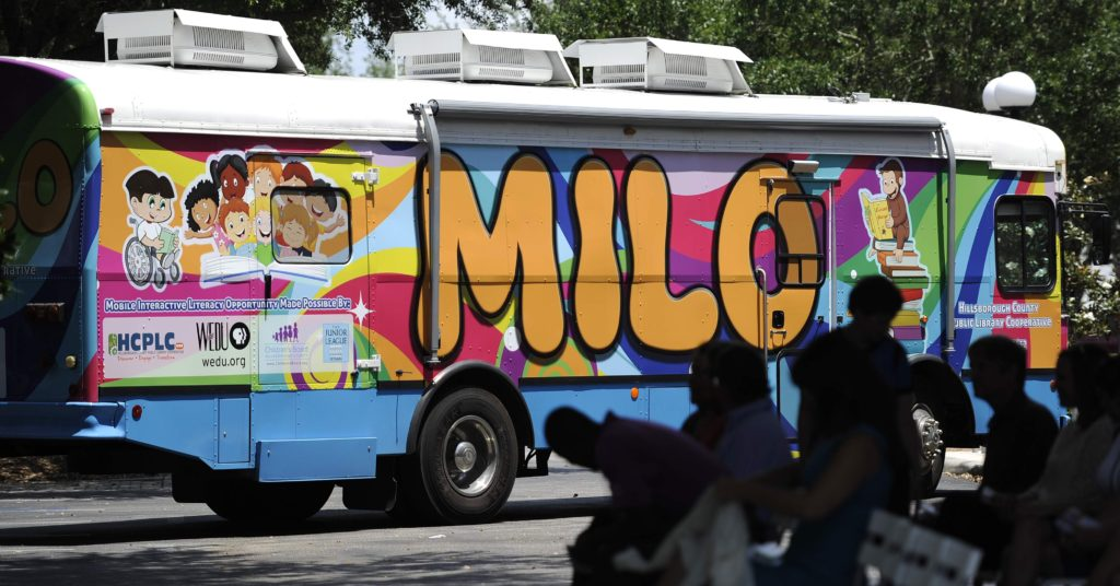 MILO Bus, The Junior League of Tampa