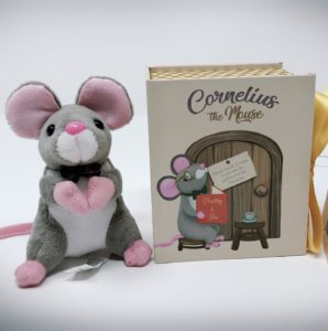 2018 Holiday Gift Market YEP Winner, Cornelius the Mouse by Rebekah Phillips