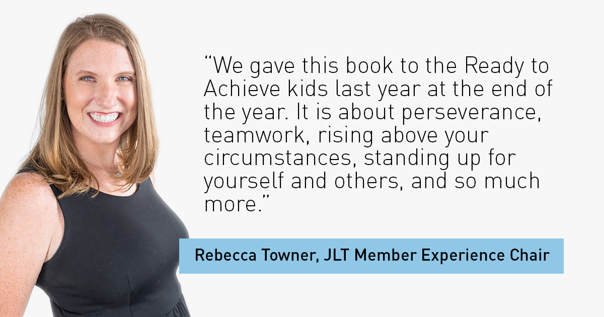 The Junior League of Tampa Member Experience Chair Rebecca Towner
