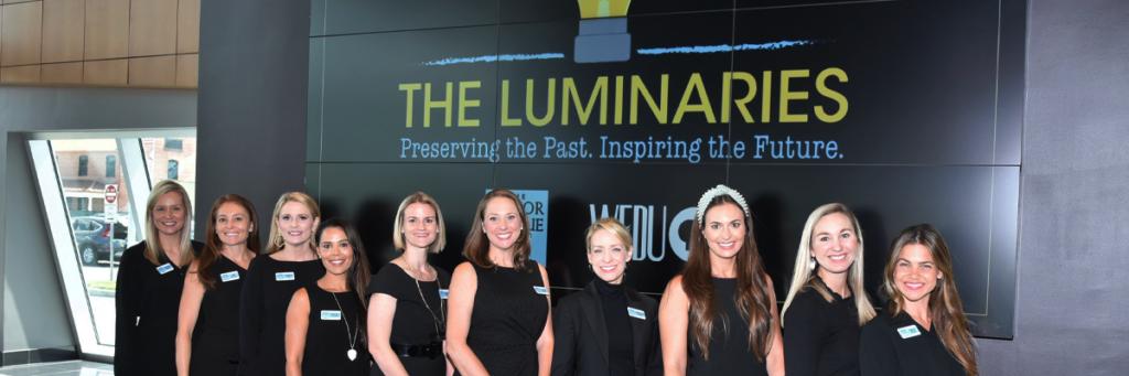 The Junior League of Tampa members at The Luminaries